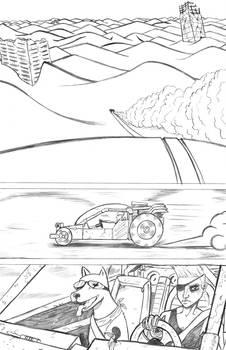 Godzilla page 1