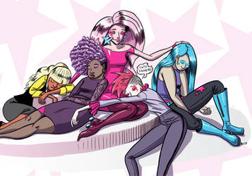 Jem and the Holograms by Transypoo
