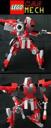 Lego MOC Mech by Transypoo