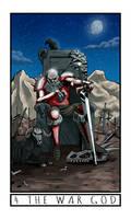 The Broken Moon Tarot: 4 The War God