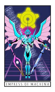 Broken Moon Tarot: Empress of Machina