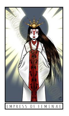 Broken Moon Tarot: Empress of Feminae