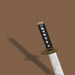 Katana Painting by TheRevengist