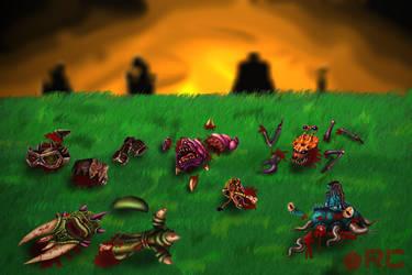 Monster Massacre by TheRevengist