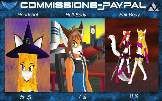 Commissions - OPEN (PayPal)