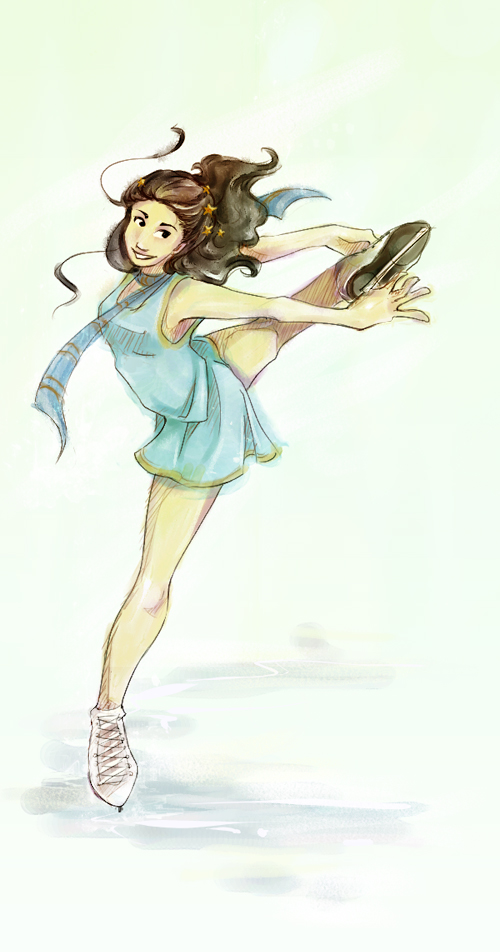 shawn figure skating drawings - Google Search | Figure ...  |Drawing Ice Skater