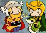 Thor vs Loki: Pokemon Asgard League