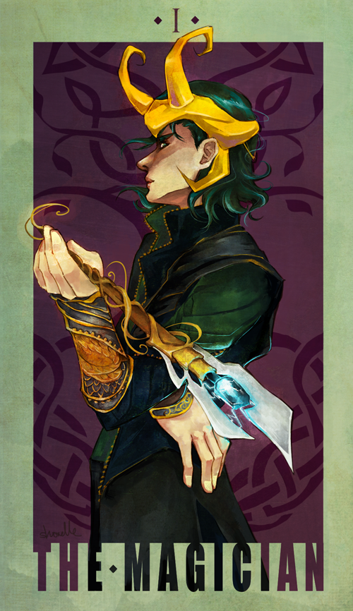 I: Loki - The Magician by shorelle