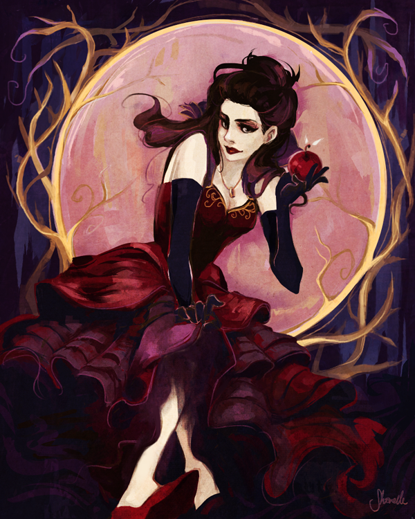 once upon a time - mirror mirror by shorelle on DeviantArt