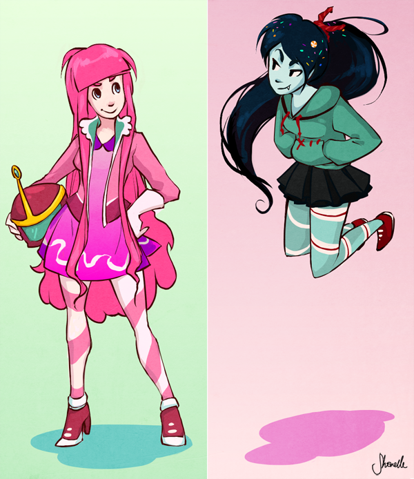 build-it bubblegum and mix-it marceline by shorelle