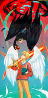 good omens - between heaven and hell
