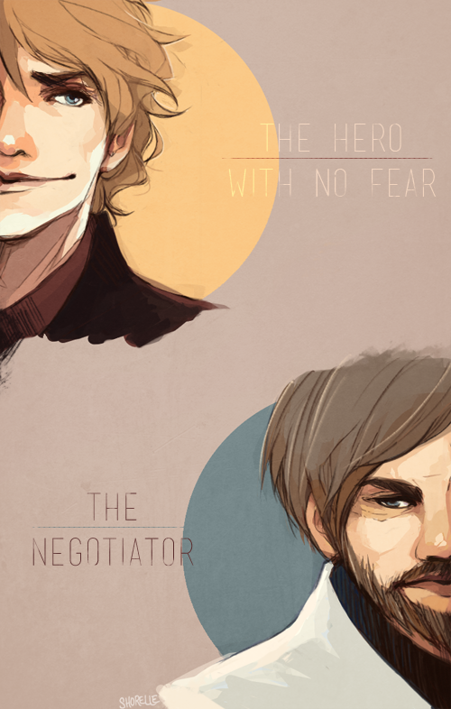 star wars - skywalker and kenobi by shorelle