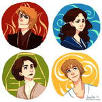 star wars - four elements