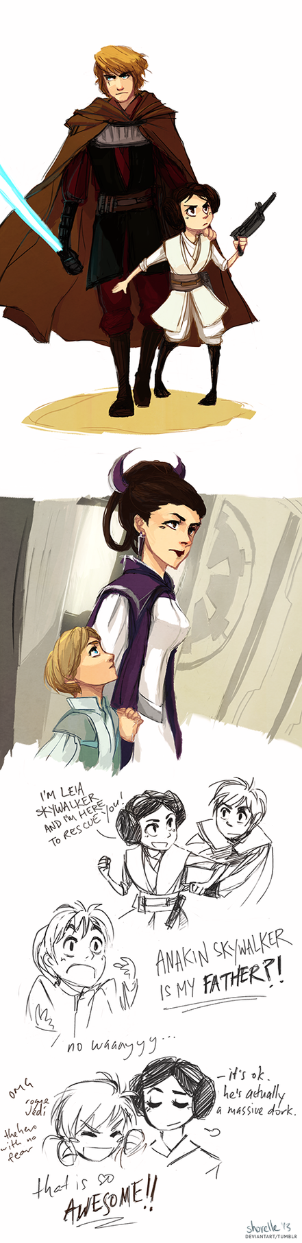 Star Wars Fanfiction Luke And Leia Time Travel