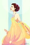 star wars - padme's lake dress