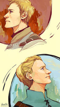 jaime and brienne - portraits