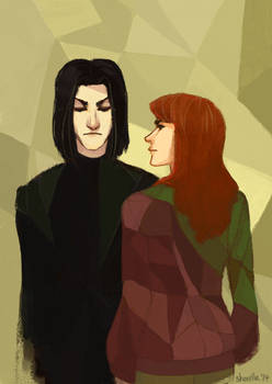 snape and lily - somebody that i used to know
