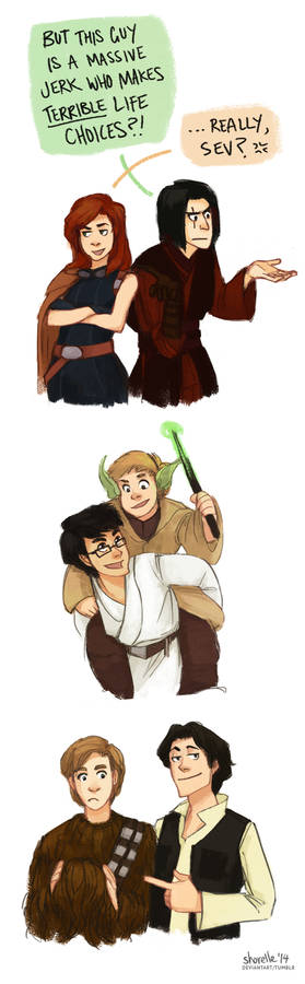 harry potter star wars AU - marauder era