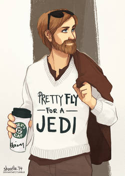 star wars - pretty fly for a jedi