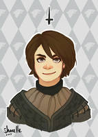 game of thrones - arya stark by shorelle