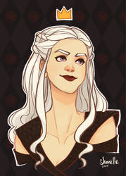 game of thrones - daenerys targaryen by shorelle