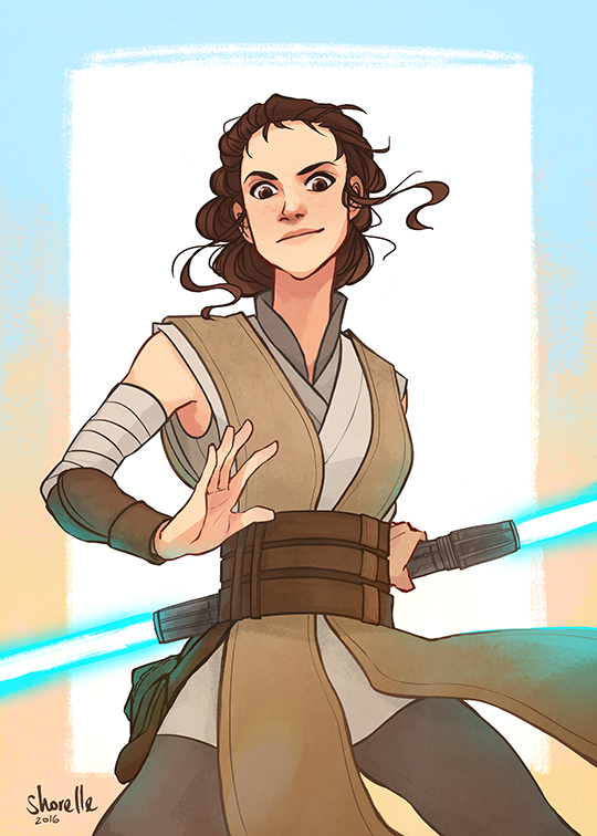 holding out for a hero - rey by shorelle