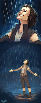 rey - with the falling sky and the rain
