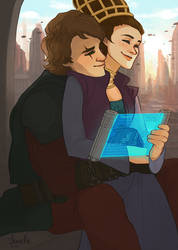 anakin + padme - good morning by shorelle