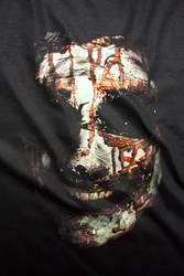 Bloody Clown Face T-shirt by Smart-FX