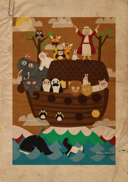 Noah's Ark by tiogob