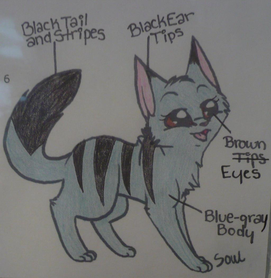 Warriors Cats OC: Waverunner!!! by TopazBeats