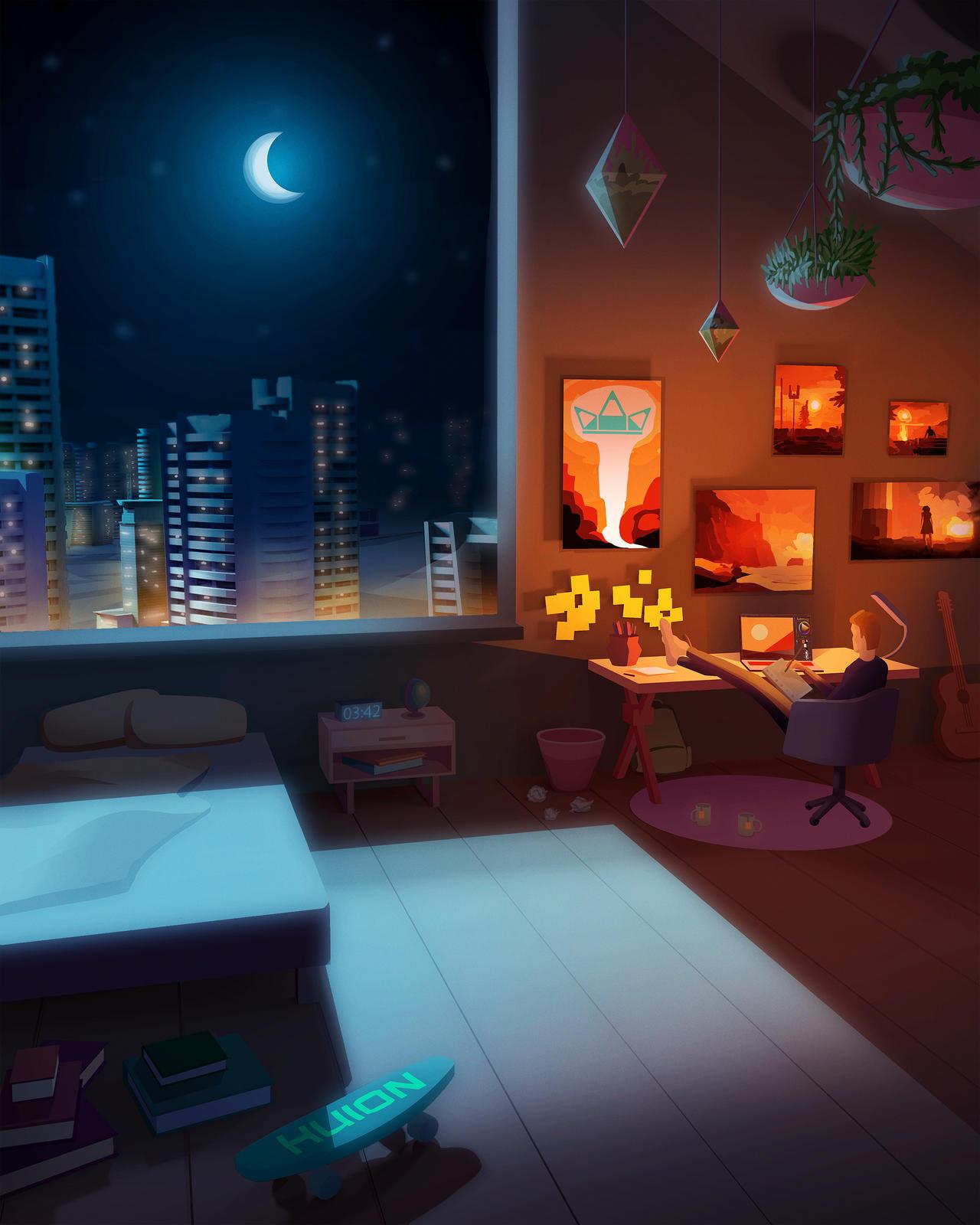 Freelance Room - Art Contest