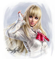 Lili Emilie Rochefort (from Tekken) by Rowdy-Demet