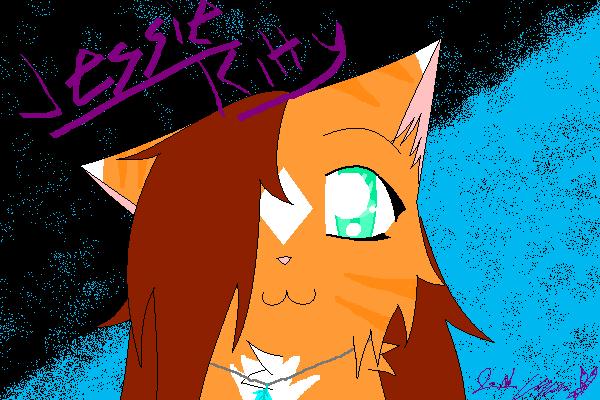 Cute Jessie Kitty UPDATED by XxJessie-KittehxX