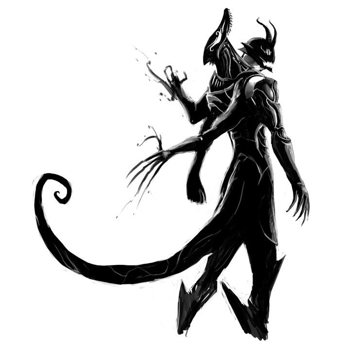 Triplet Armor Daemon By Unded On DeviantArt