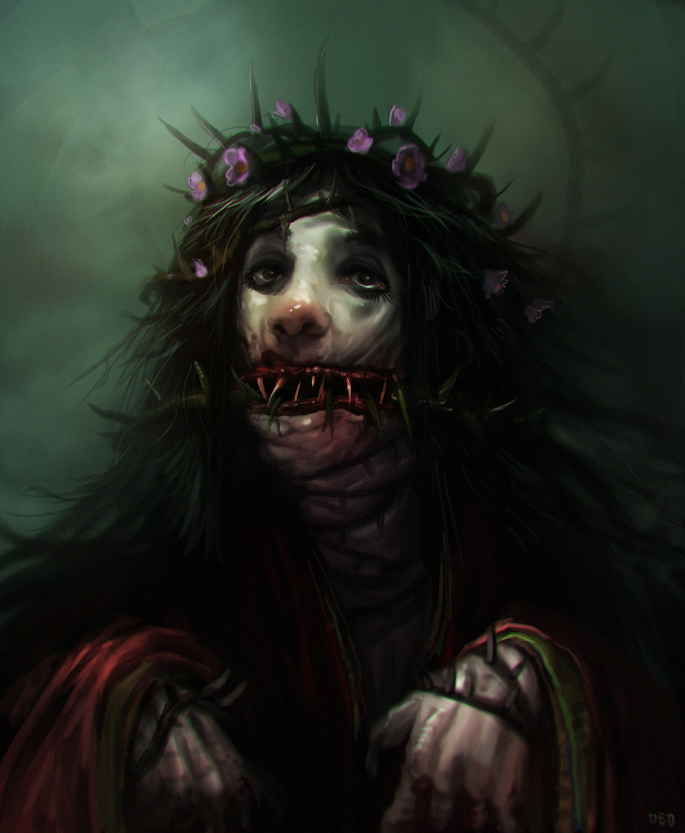 lady of thorns by unded