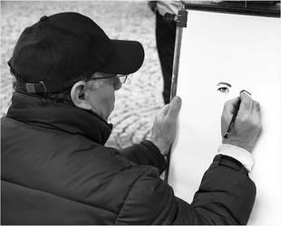 The portrayer by kortos