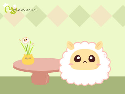Kiru, The Sheep. by anhiee