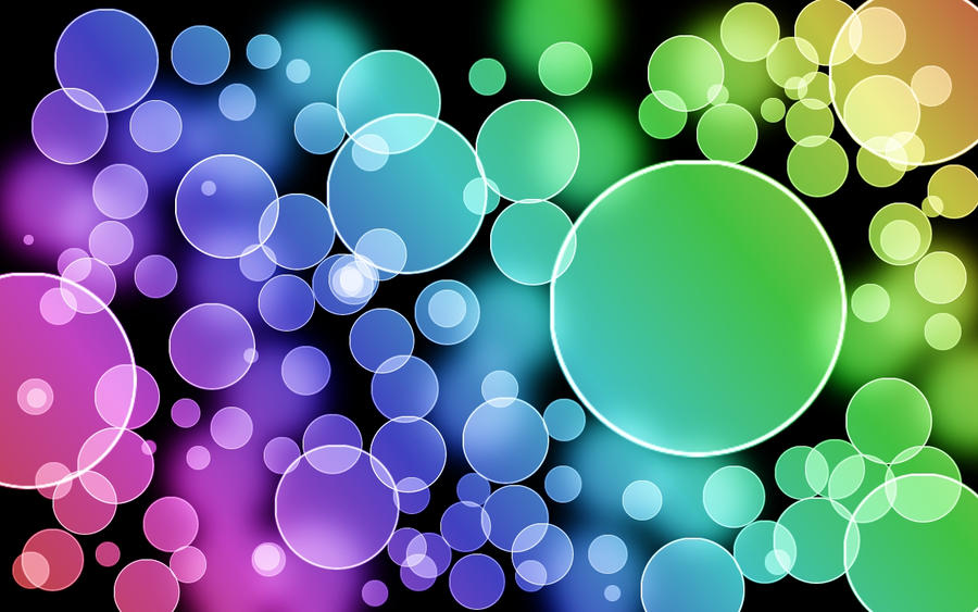 gallery for colorful polka dot backgrounds