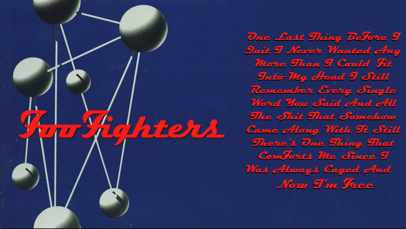 Foo Fighters Wallpaper by TheMajesticGoat