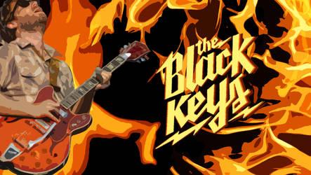 Black Keys Fire by TheMajesticGoat