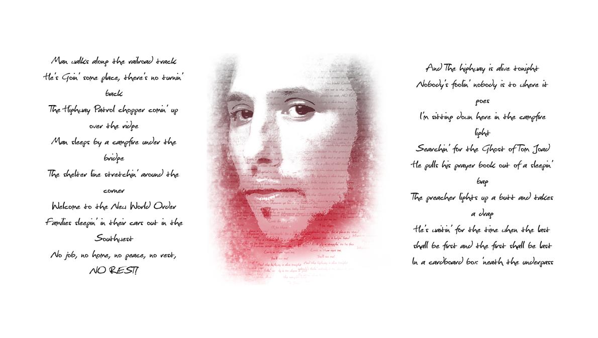 rage against the machine ghost of tom joad lyrics