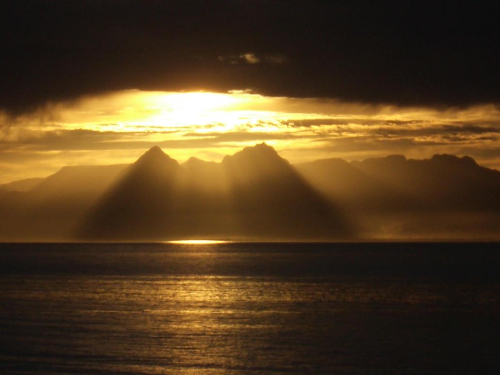 Baja Sunset by SilentSniper76