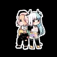 [Commission] Marina + Suzanna by 12byo