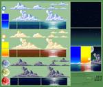 Background Compilation: Ocean
