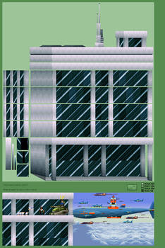 Background Building 5, Skyscraper