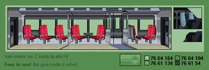 Modern Train Interior ver. 2