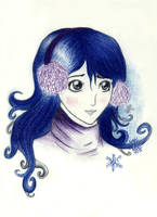 Winter lady by Saria17