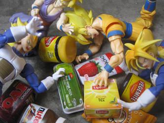 Super Saiyan Bargain Sale by SmashBros2008