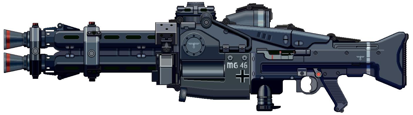 Maschinengewehr 1946 by Ruiner3000